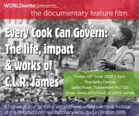 TOTTENHAM PREMIERE: Friday 10th June 2016, 7pm-9pm