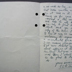 C.L.R. James letter to William Gillies