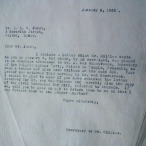 William Gillies letter to C.L.R. James