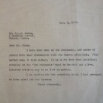 Letter-William Gillies replies