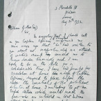 Letter to William Gillies