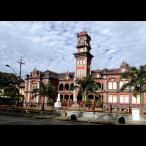 Queens Royal College (High school he attended in Port of Spain)